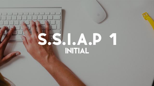 S.S.I.A.P 1 - Initiale