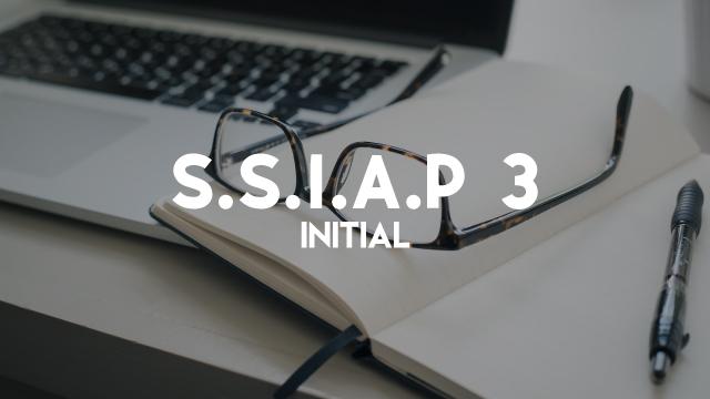 S.S.I.A.P 3 - Initiale